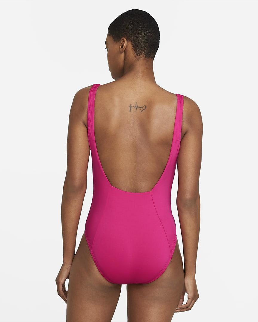 Nike Essential U-Back Women\'s 1-Piece Swimsuit Fireberry