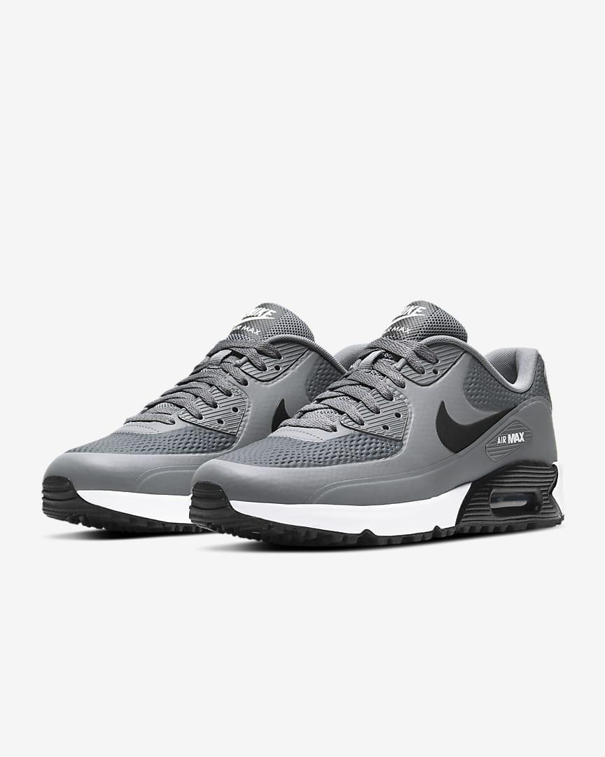 Nike Air Max 90 G Golf Shoe Smoke Grey/White/Black