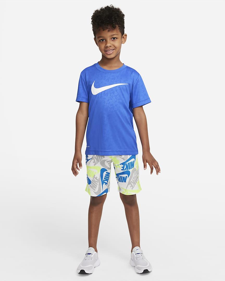 Nike Sportswear Little Kids\' Shorts White