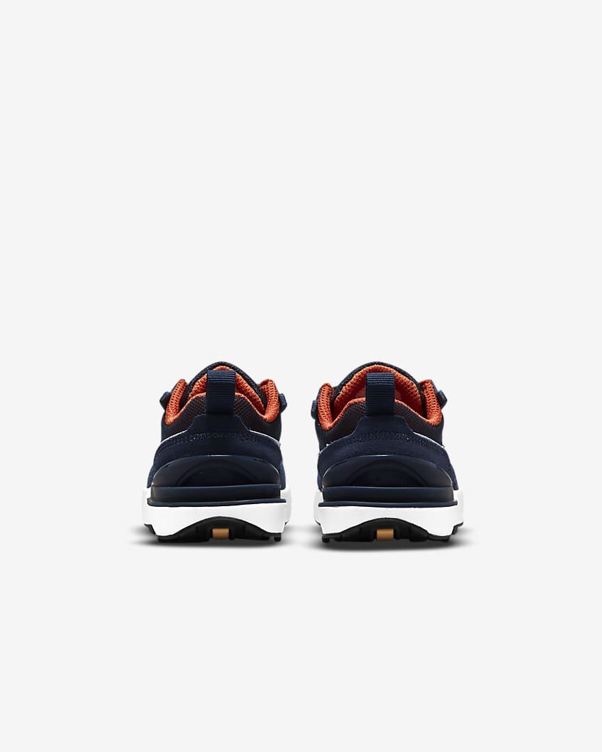 Nike Waffle One Baby/Toddler Shoes Midnight Navy/Orange/Melon Tint/White