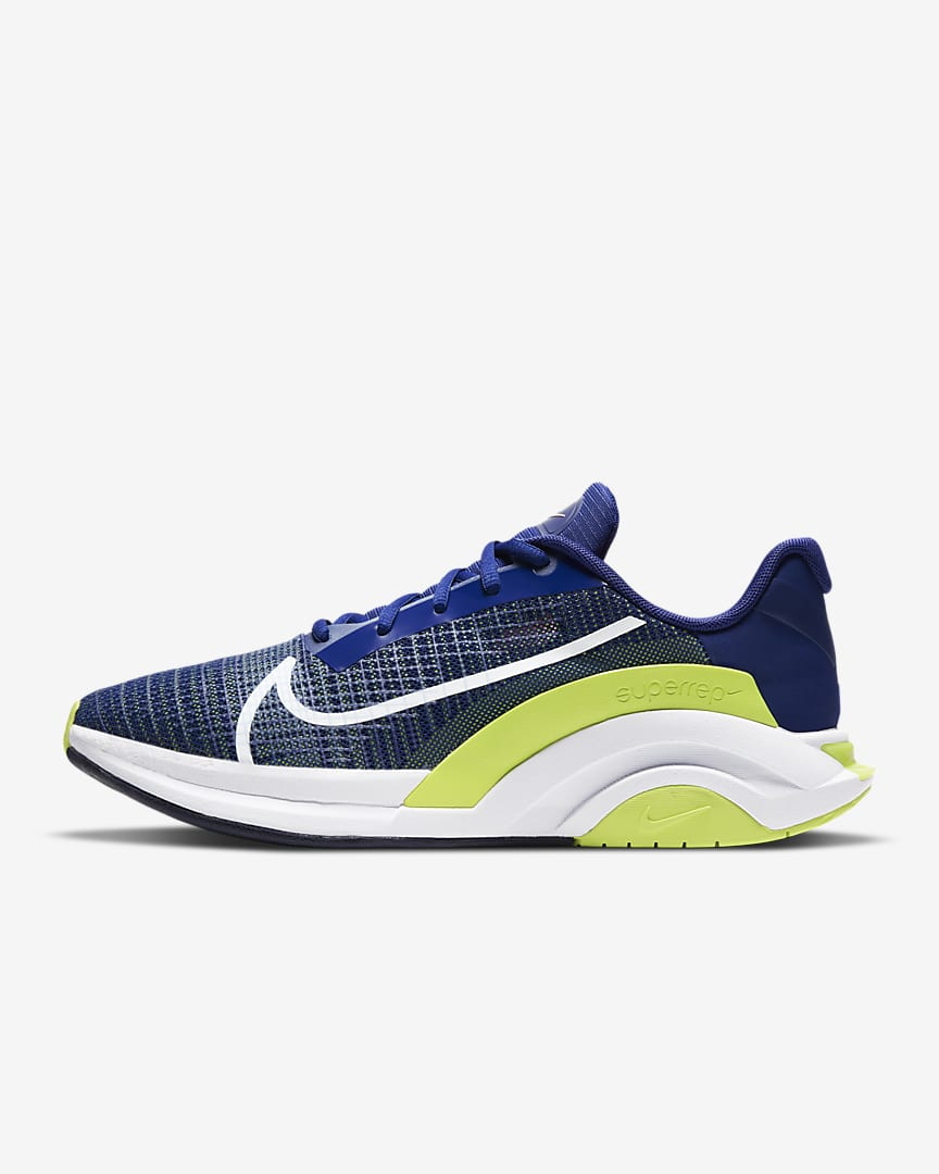 Nike ZoomX SuperRep Surge Endurance Class Men's Shoes (Deep Royal Blue/Cyber/Bright Mango/White)