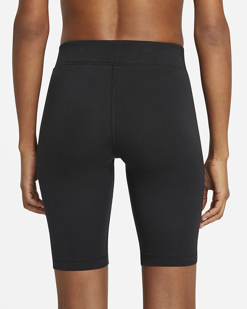 Nike Sportswear Essential Women\'s Bike Shorts Black/White