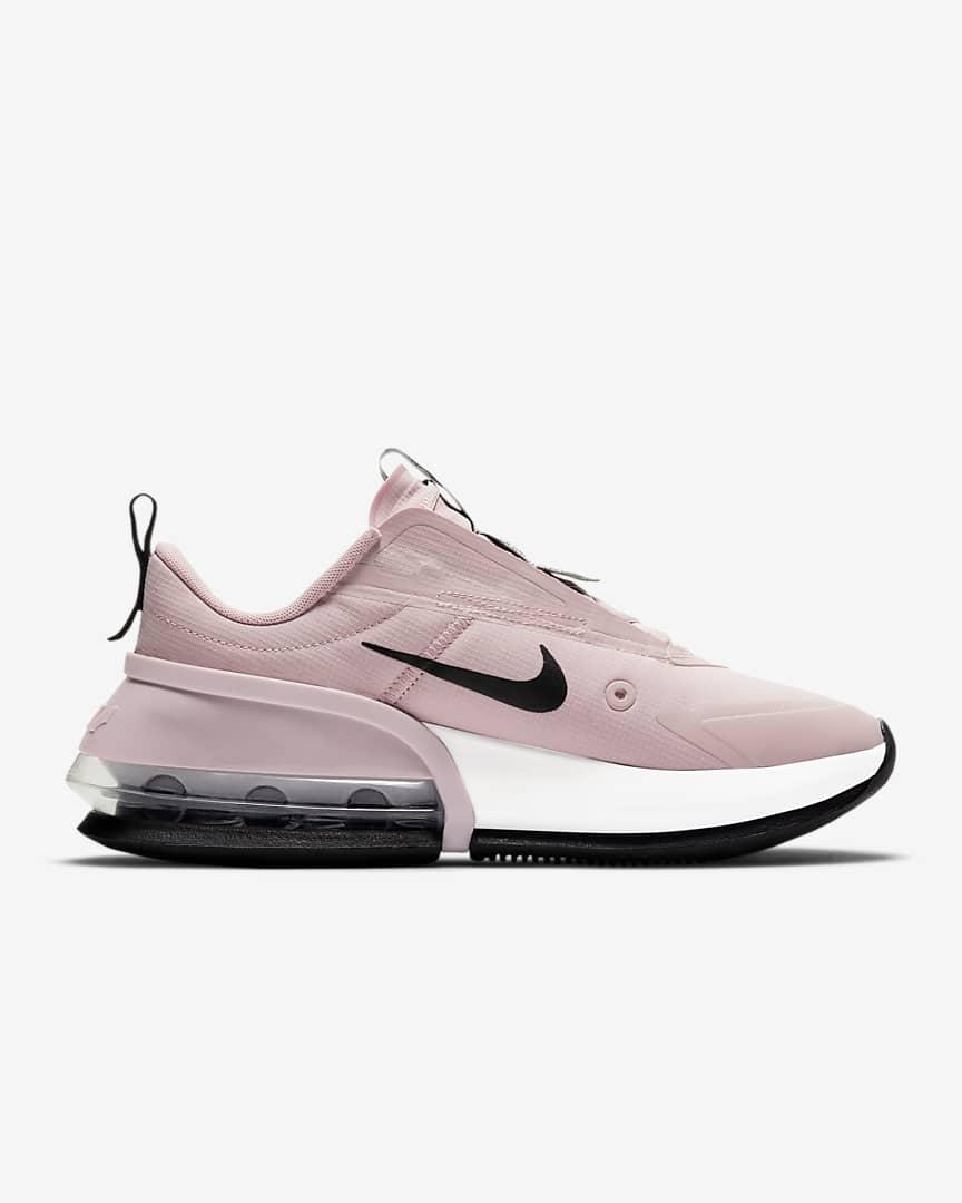 Nike Air Max Up Women\'s Shoes Champagne/Black/Metallic Silver/White