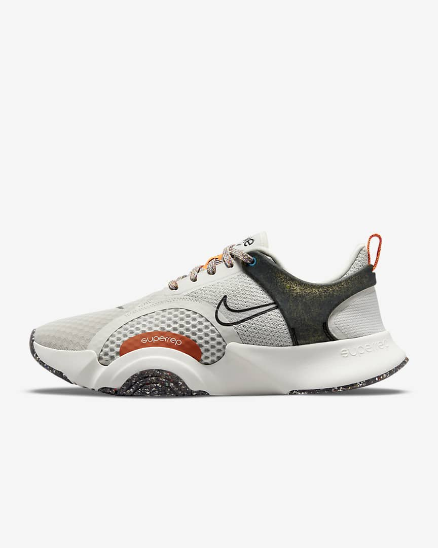 Nike SuperRep Go 2 Men\'s Training Shoes Light Bone/Summit White/Total Orange/Velvet Brown