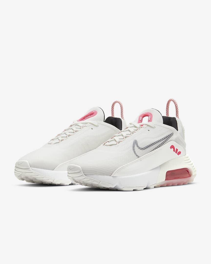 Nike Air Max 2090 Women\'s Shoes Summit White/Siren Red/White/Black