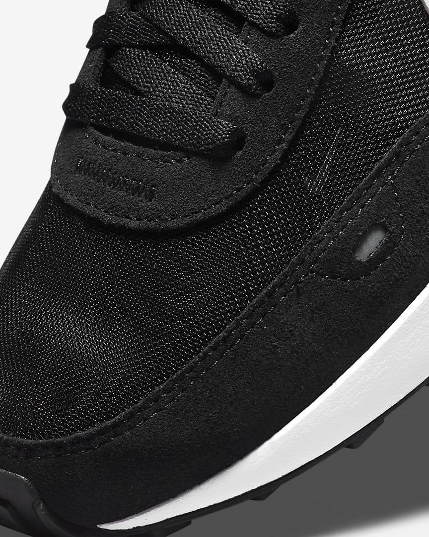 Nike Waffle One Women\'s Shoes Black/Orange/White