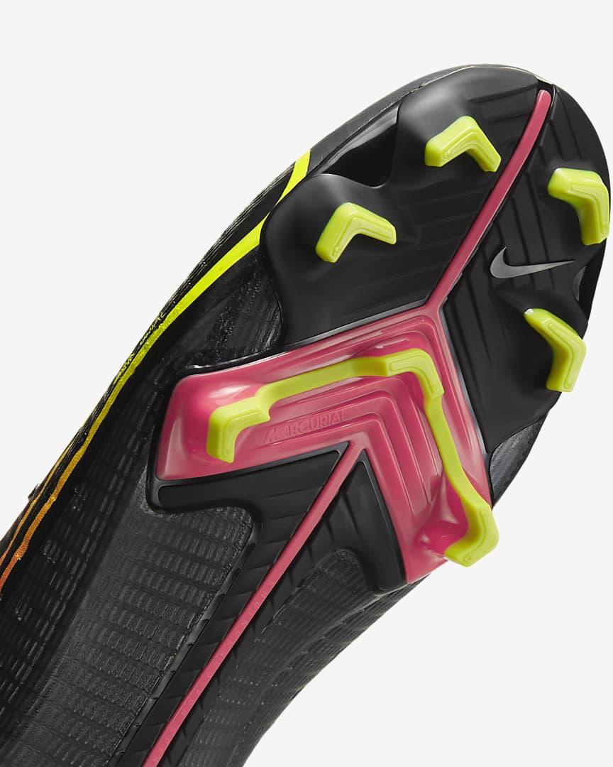 Nike Mercurial Vapor 14 Pro FG Firm-Ground Soccer Cleat Black/Off Noir/Obsidian/Cyber