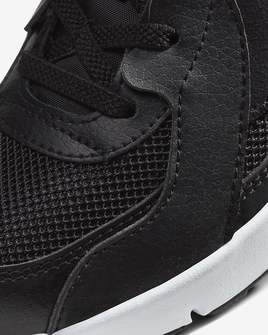 Nike Air Max Excee Little Kids' Shoes Black/Dark Grey/White