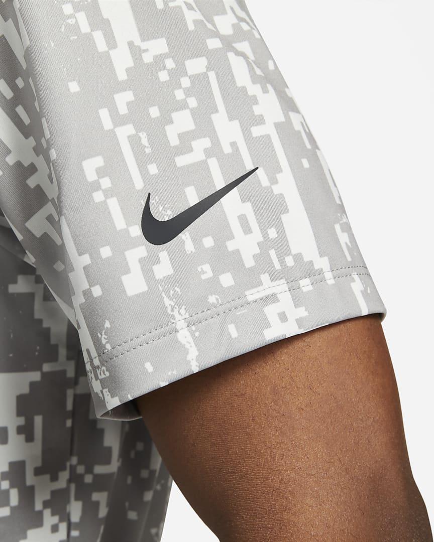 Nike Dri-FIT Vapor Men\'s Graphic Golf Polo Dust/Black
