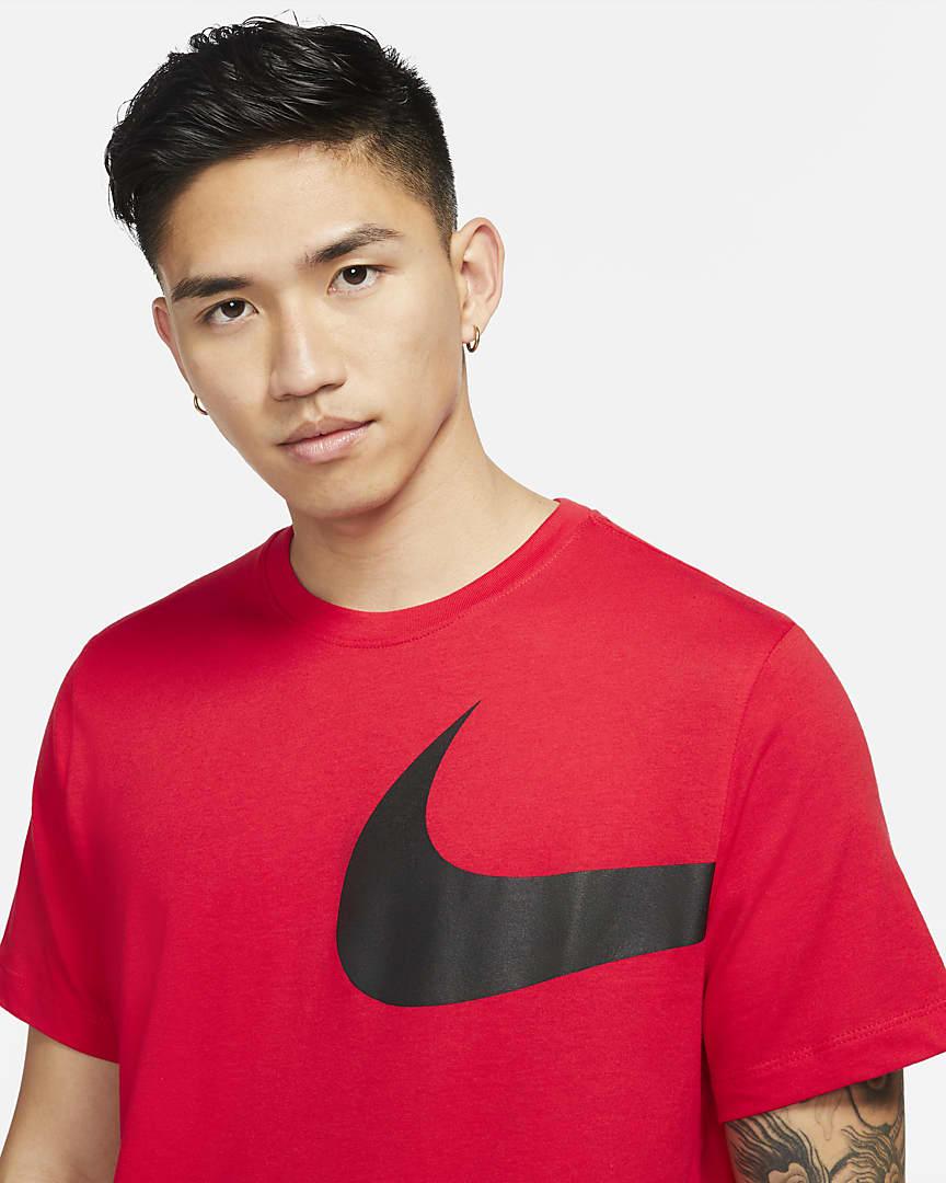 Nike Sportswear Men\'s T-Shirt University Red