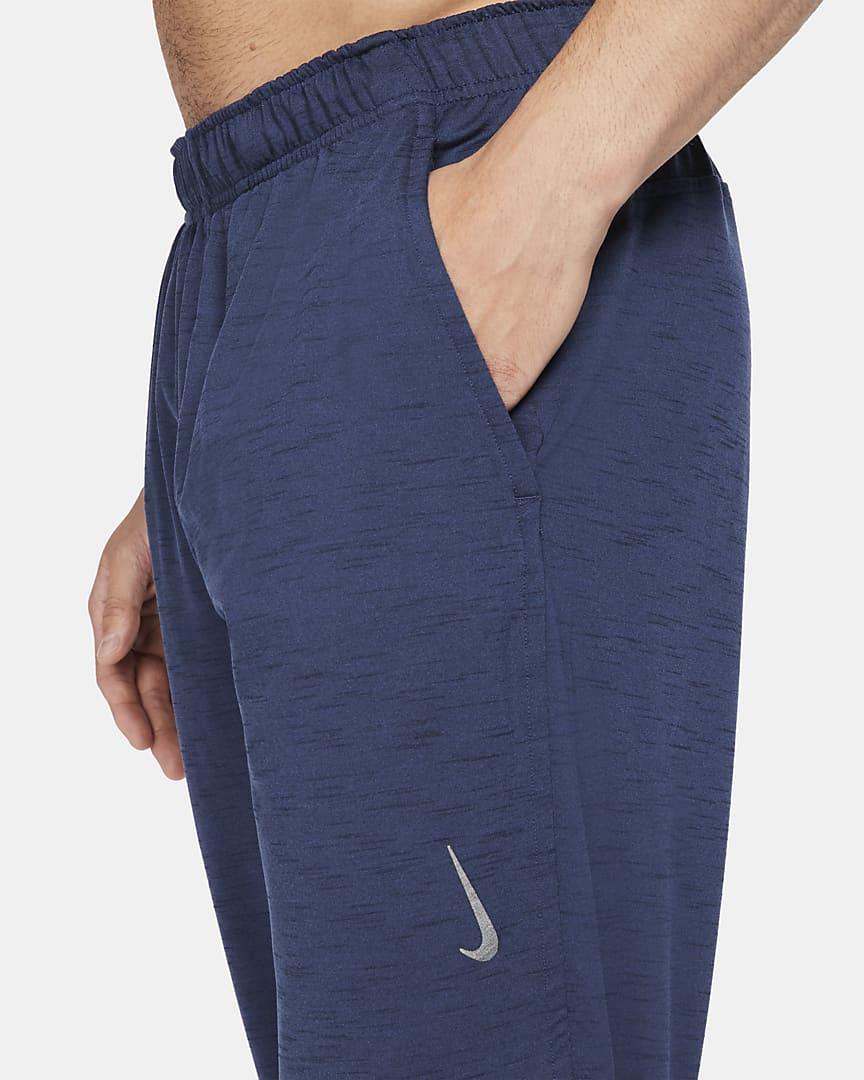 Nike Yoga Dri-FIT Men\'s Pants Midnight Navy/Dark Obsidian