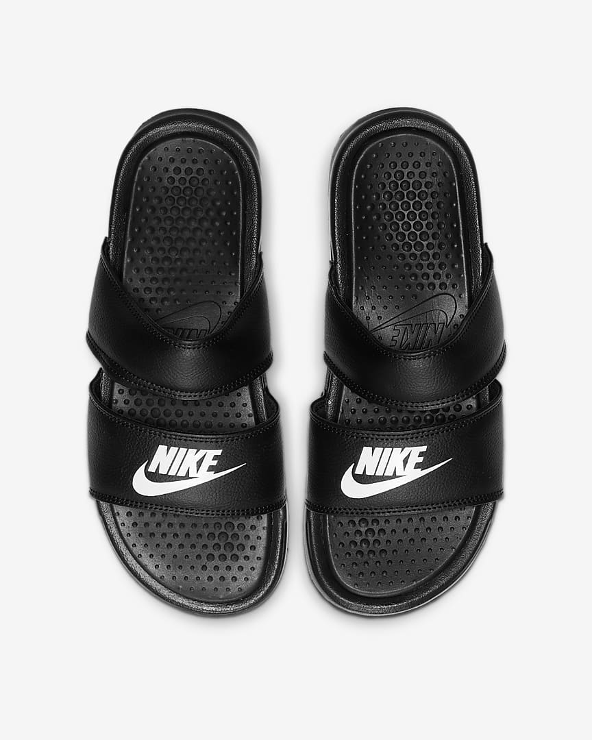 Nike Benassi Duo Ultra Women\'s Slide Black/White