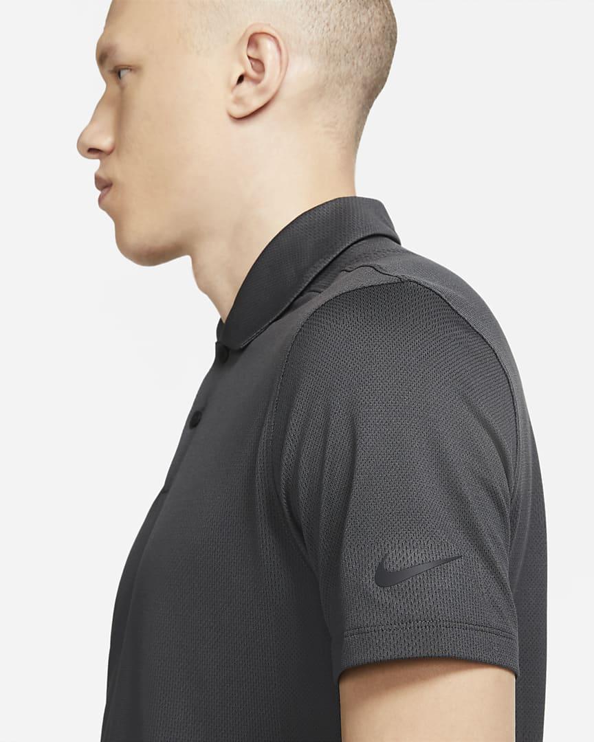 Nike Dri-FIT Vapor Men\'s Golf Polo Black/Black
