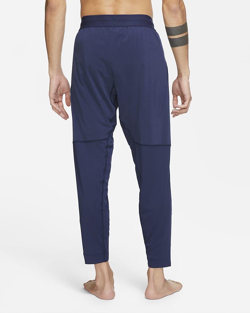 Nike Yoga Men\'s Pants Midnight Navy/Black