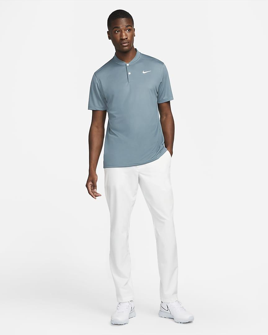 Nike Dri-FIT Victory Men\'s Golf Polo Hasta/White