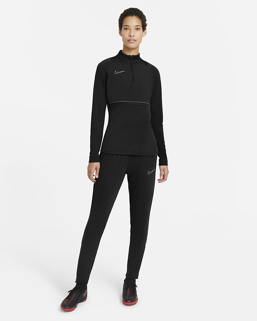 Nike Dri-FIT Academy Women\'s Soccer Pants Black/White/White
