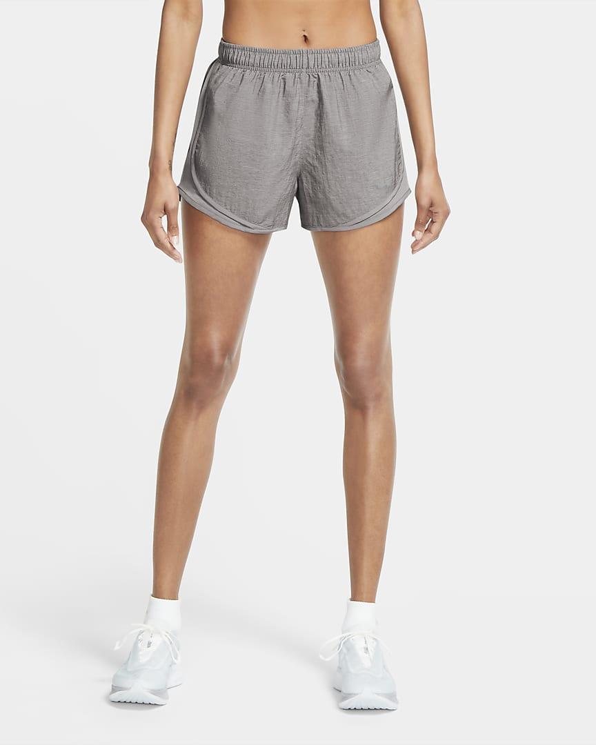 Nike Tempo Women\'s Heathered Running Shorts Atmosphere Grey/Atmosphere Grey/Wolf Grey
