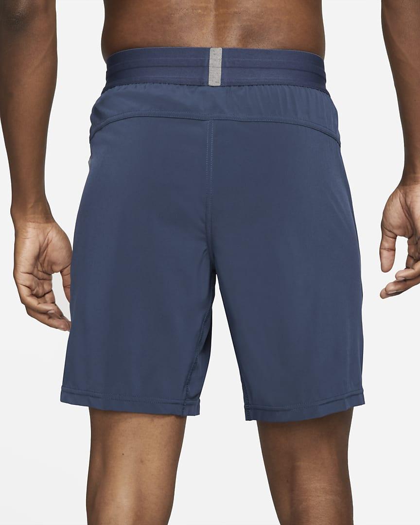 Nike Yoga Dri-FIT Men\'s Shorts Midnight Navy