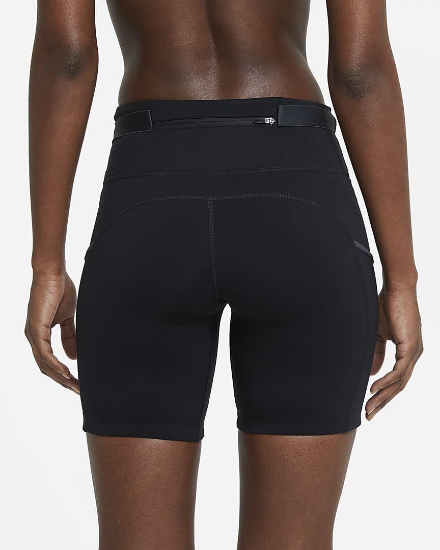 Nike Epic Luxe Women\'s Trail Running Shorts Black/Dark Smoke Grey