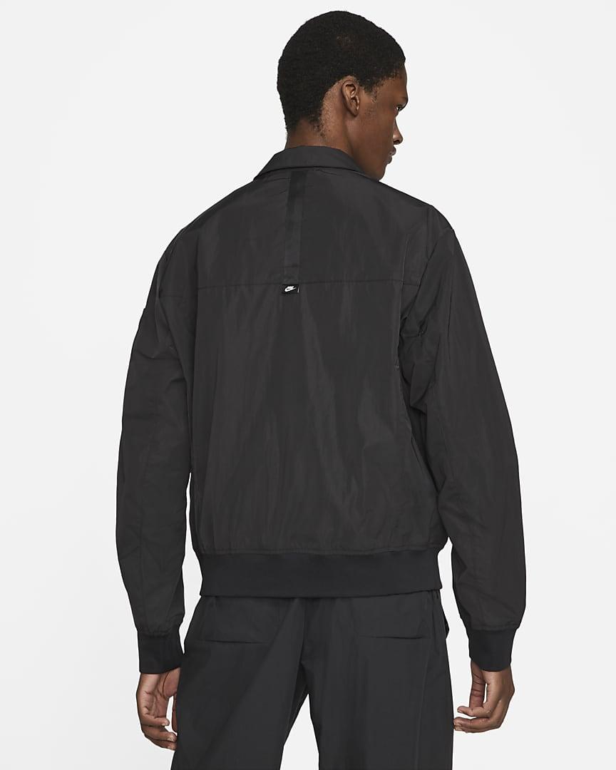 Nike Sportswear Premium Essentials Men\'s Unlined Bomber Jacket Black/Black/Black