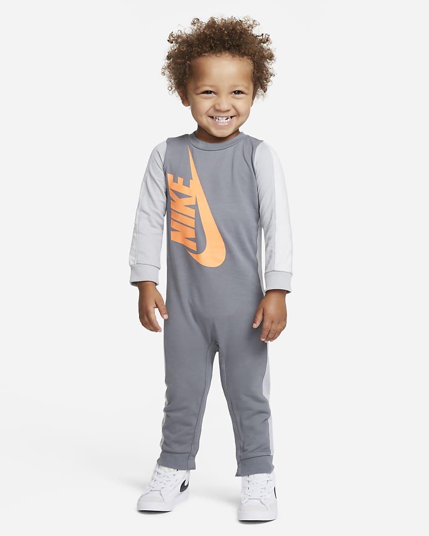 Nike Baby (12-24M) Coverall Smoke Grey