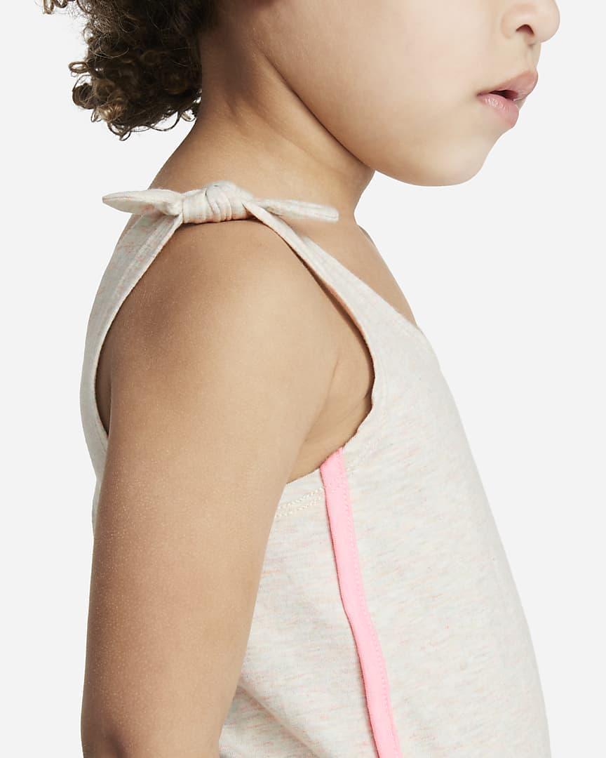 Nike Toddler Romper Coconut Milk