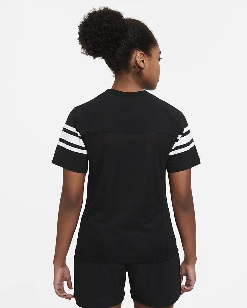 Nike Vapor Women\'s Flag Football Jersey (Stock) Team Black/Team White/Team White