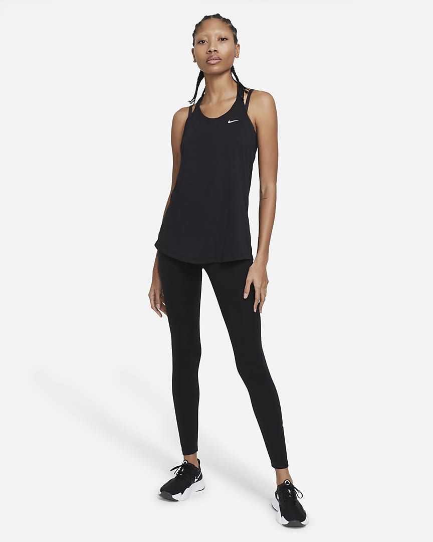 Nike Dri-FIT Women\'s Training Tank Black/White