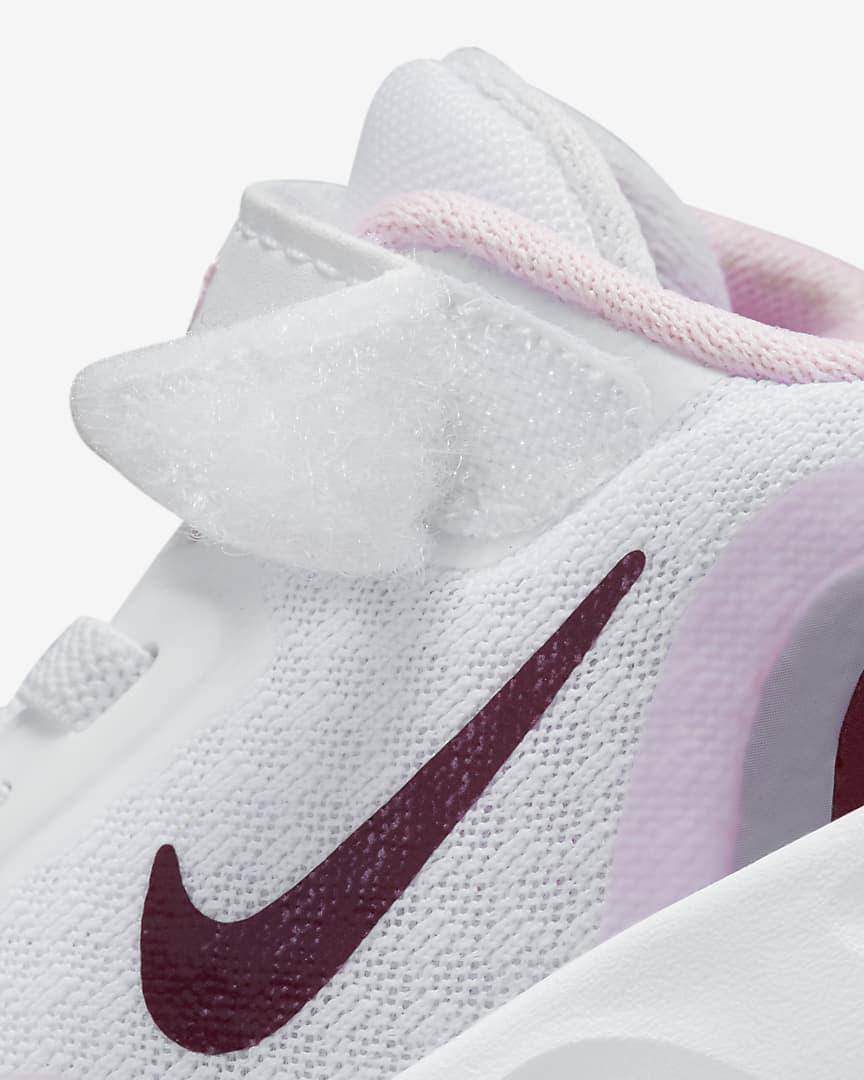 Nike WearAllDay Baby/Toddler Shoes White/Pink Foam/Dark Smoke Grey/Dark Beetroot