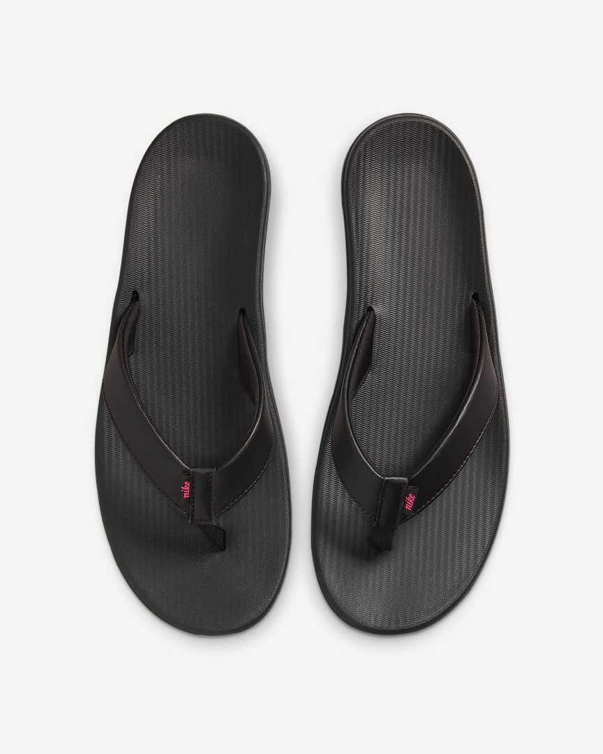 Nike Bella Kai Women\'s Thong Black/Hyper Pink