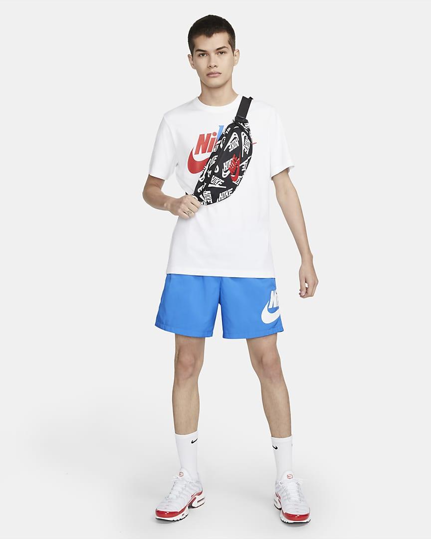 Nike Heritage Waistpack Black/Black/University Red