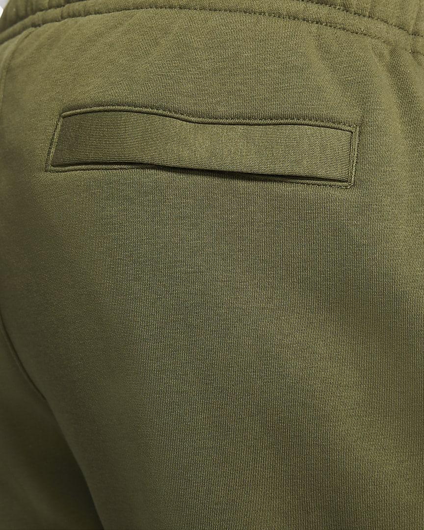 Nike Sportswear Club Fleece Men\'s Pants Rough Green/Rough Green/White