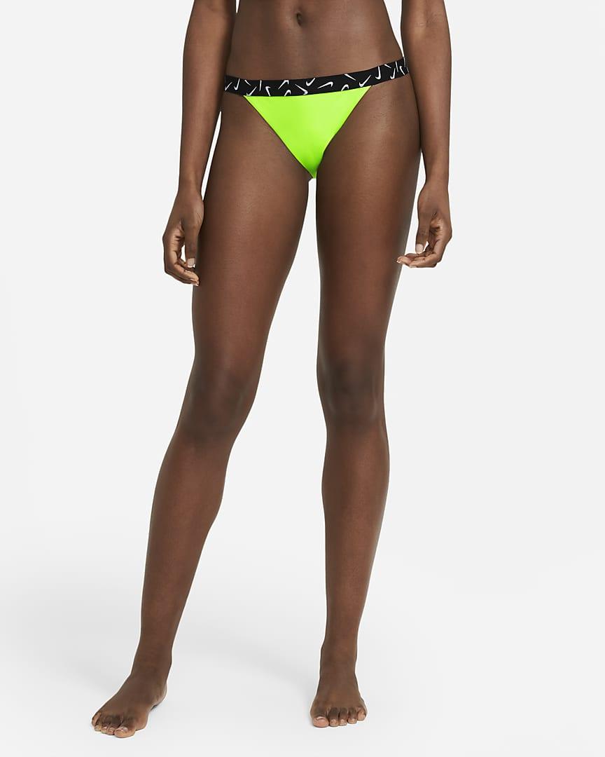 Nike Women\'s Bikini Bottom Electric Green