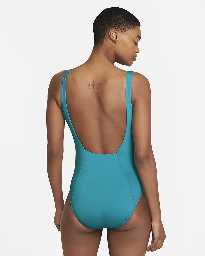Nike Essential U-Back Women\'s 1-Piece Swimsuit Aquamarine