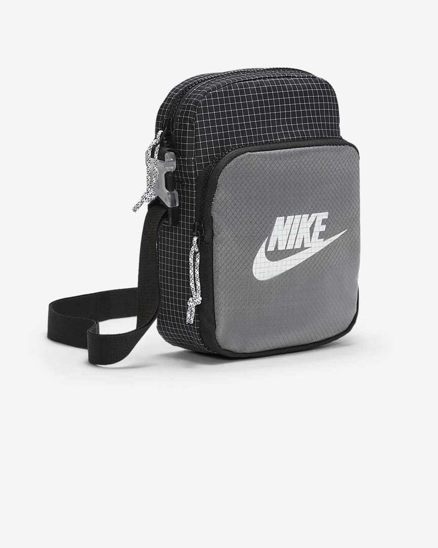 Nike Heritage 2.0 Small Items Bag Black/Black/White