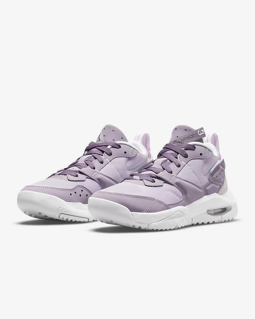 Jordan Air NFH Women\'s Shoes Infinite Lilac/White/Neutral Grey/Purple Smoke