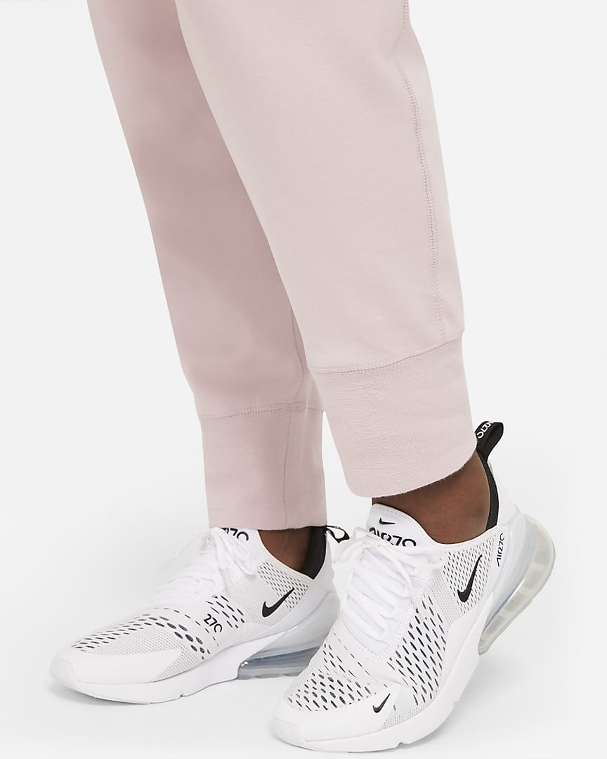 Nike Sportswear Tech Fleece Women\'s Pants (Plus Size) Champagne/Black