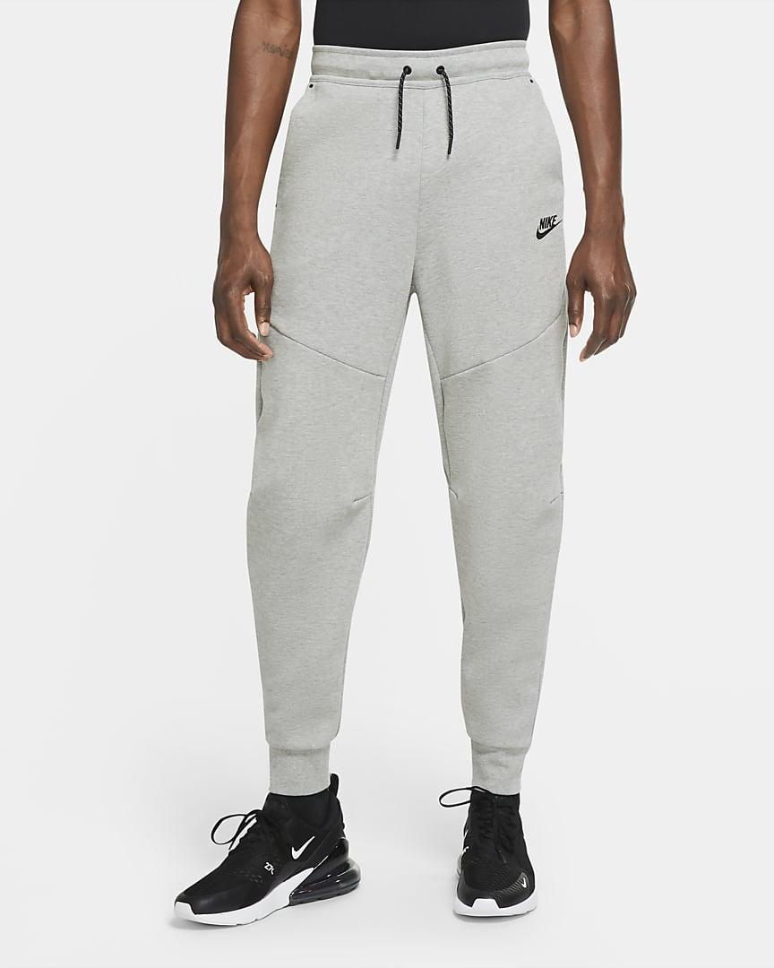 Nike Sportswear Tech Fleece Men\'s Joggers Dark Grey Heather/Black