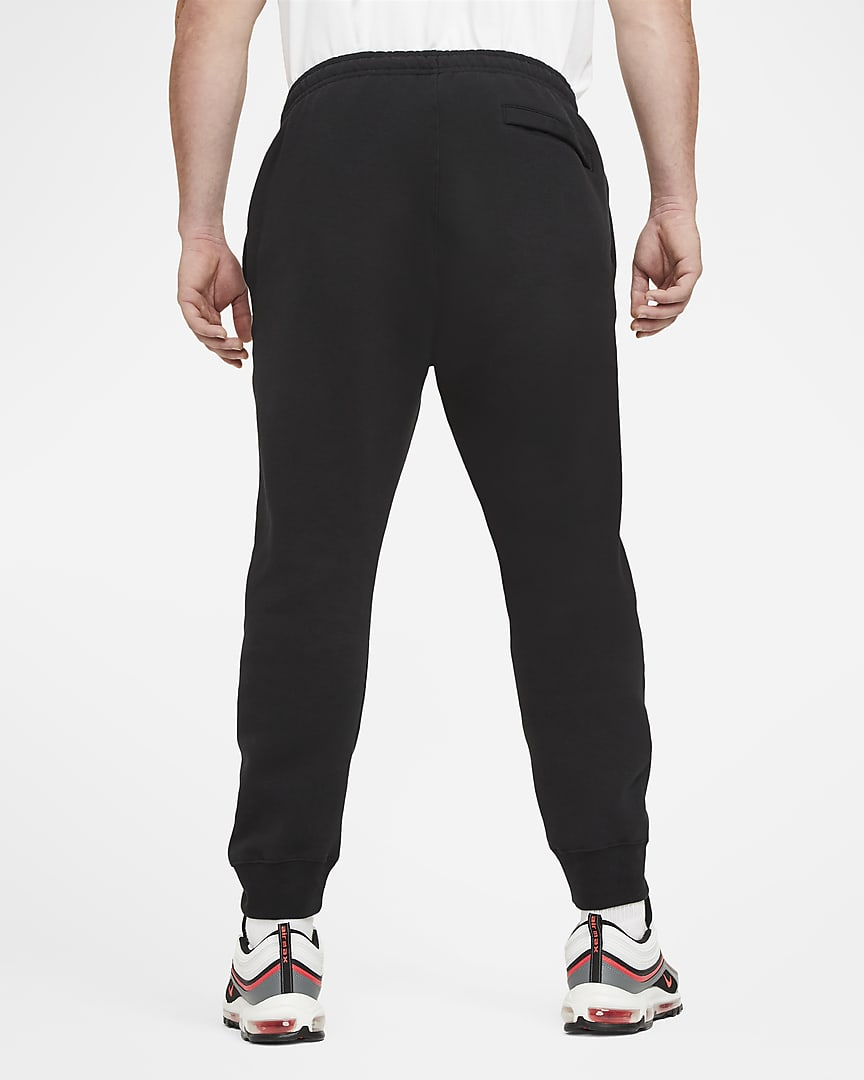 Nike Sportswear Club Fleece Joggers Black/Black/White