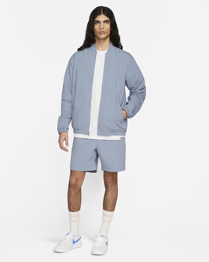 Nike SB Skate Bomber Jacket Ashen Slate/Ashen Slate