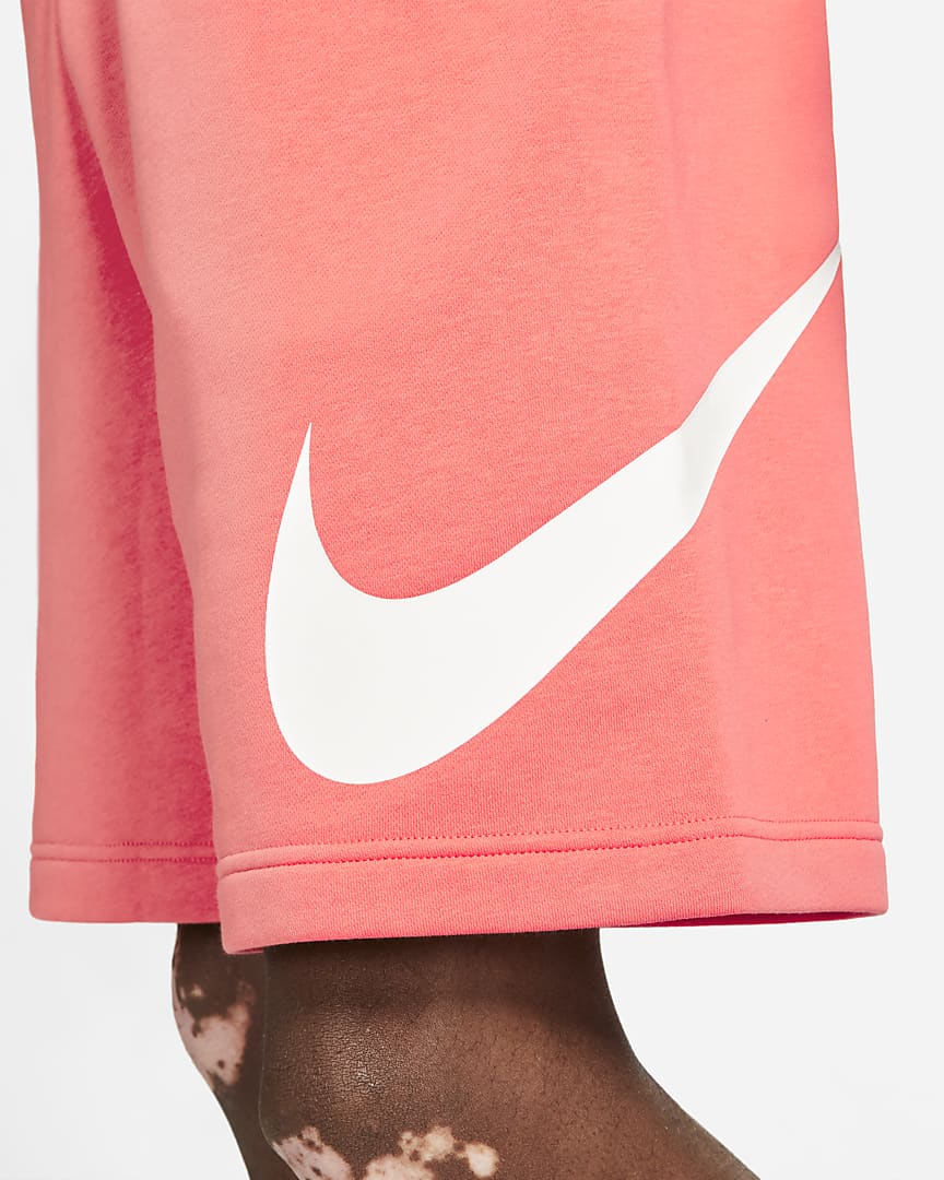 Nike Sportswear Club Men\'s Graphic Shorts Magic Ember/Magic Ember
