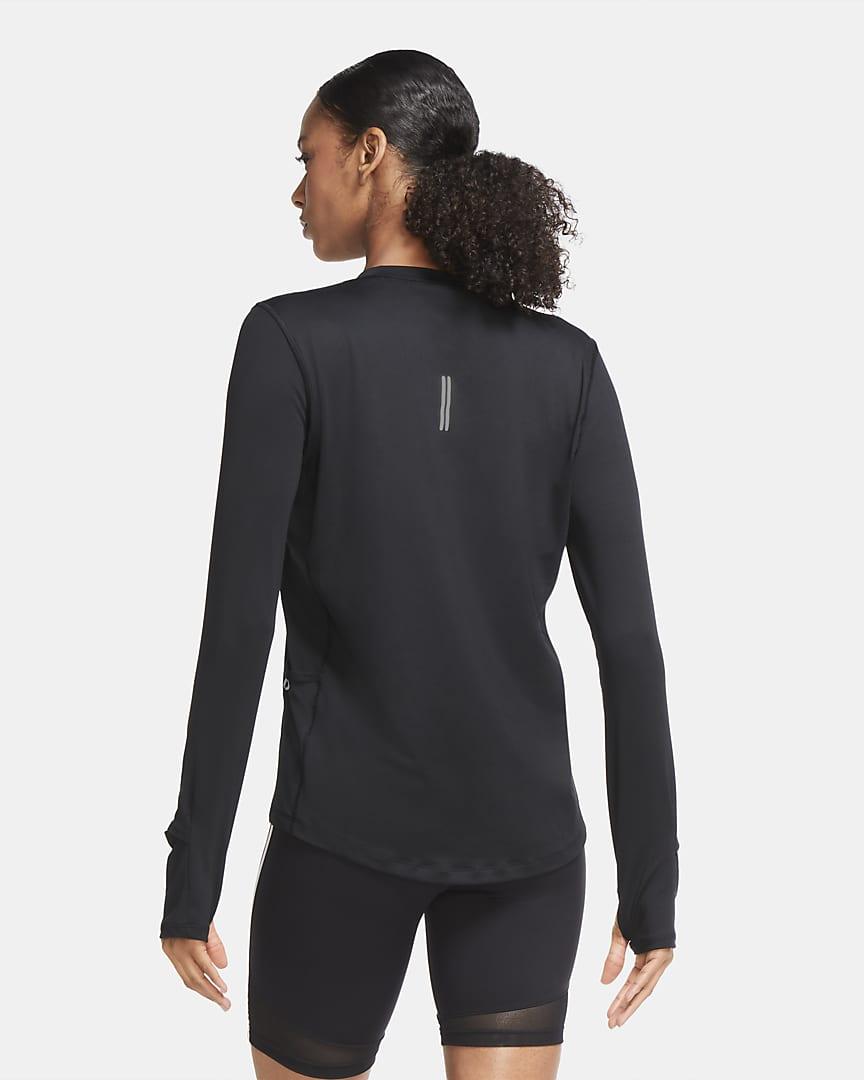 Nike Dri-FIT Element Women\'s Running Crew Black