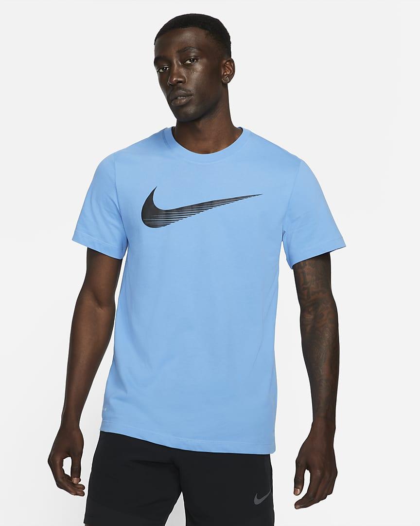 Nike Dri-FIT Men's Swoosh Training T-Shirt Coast