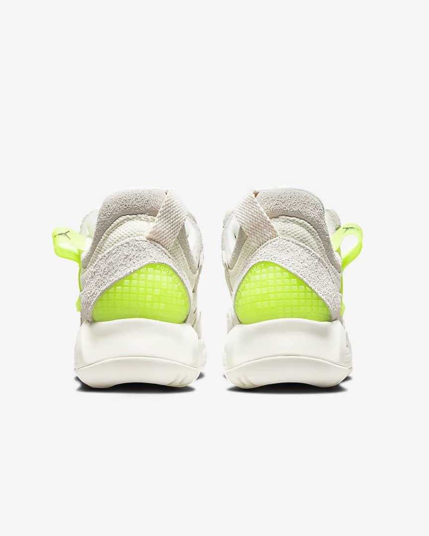 Jordan MA2 Women\'s Shoes Pale Ivory/Volt/Black