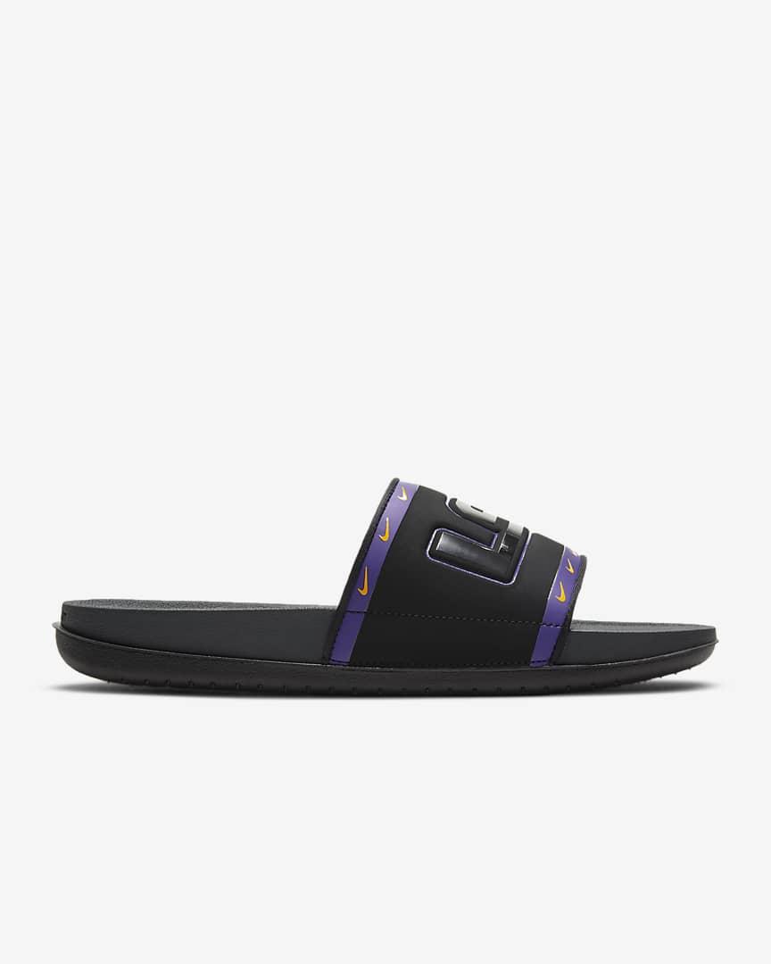 Nike Offcourt (LSU) Slide Black/Court Purple/University Gold/Anthracite