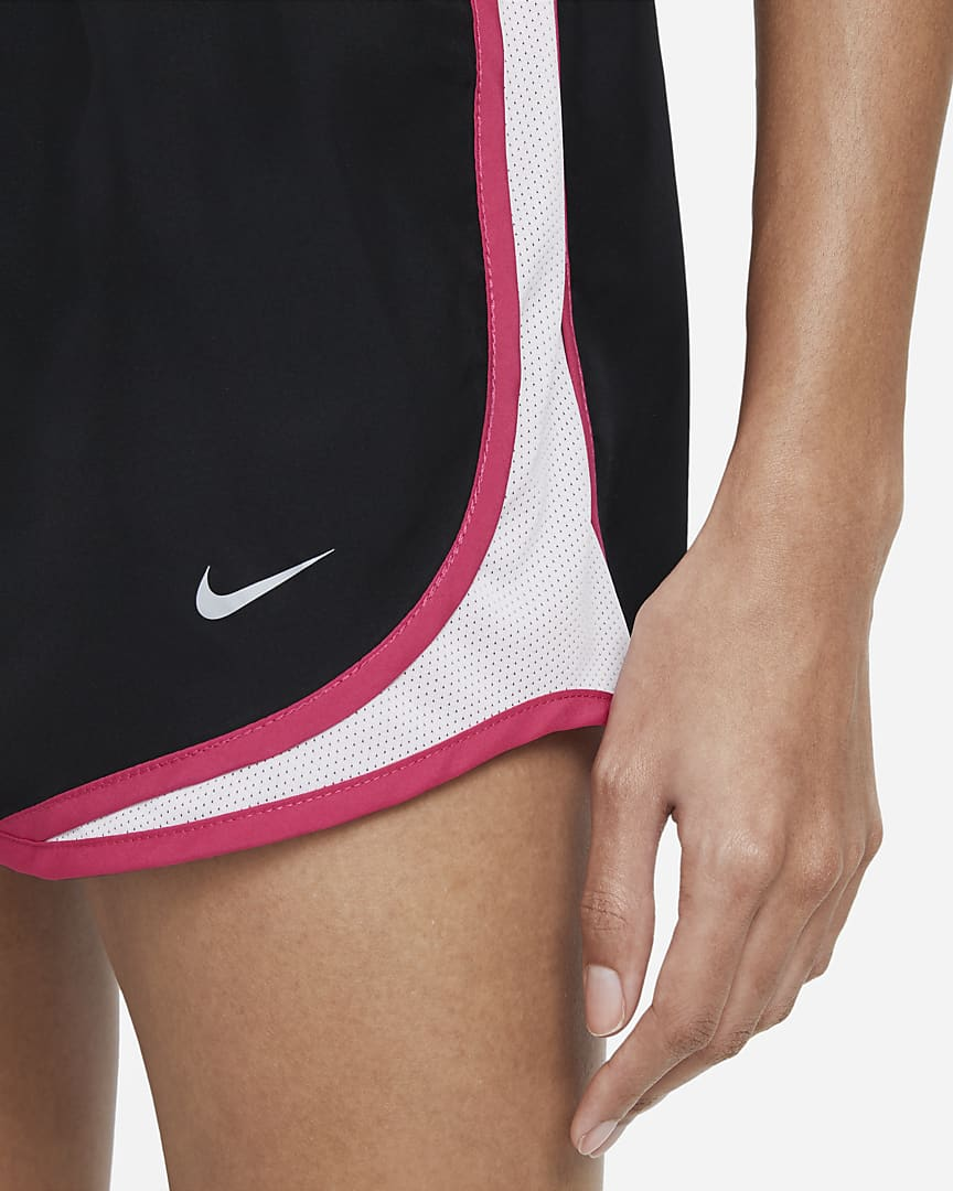 Nike Tempo Women\'s Running Shorts Black/Light Violet/Fireberry/Wolf Grey