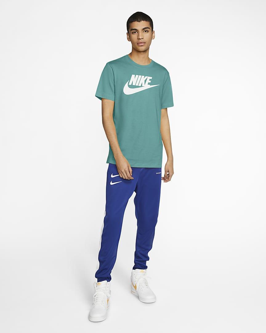 Nike Sportswear Men\'s T-Shirt Tropical Twist/White