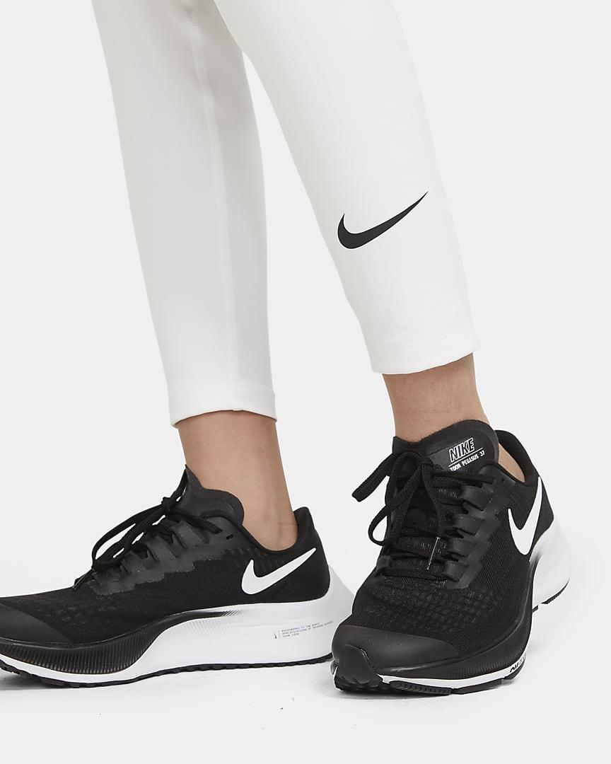Nike Pro Big Kids' (Boys') Tights White/Black