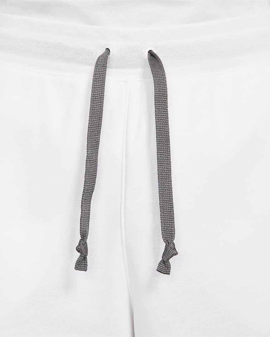 Nike Sportswear Alumni Men\'s French Terry Shorts White/Iron Grey/Black