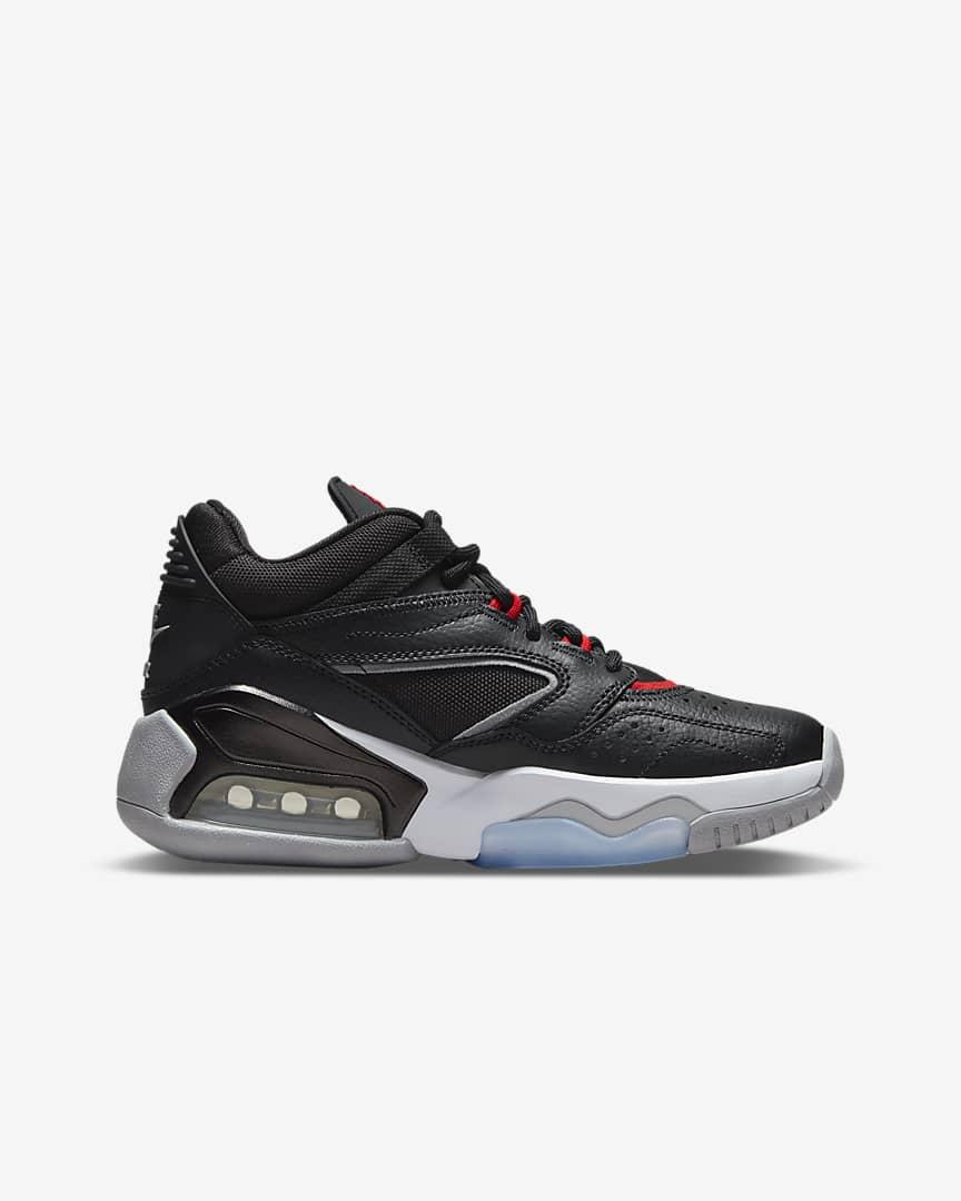Jordan Point Lane Big Kid\'s Shoes Black/Wolf Grey/White/University Red